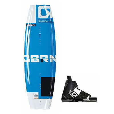 New O'Brien 140cm System Wakeboard with Clutch Bindings - Part 2170202