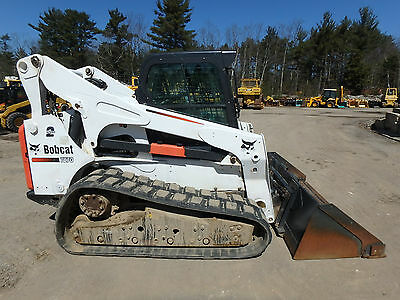 2012 Bobcat T870 Skid Steer, Tracked Loader, Skid Loader, A/C, High Flow