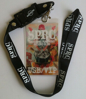 "SMASHING PUMPKINS 2011 VIP USB ""Tour Pass"" Exclusive Live and Video L00K!"
