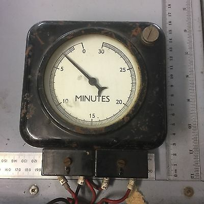 Vintage Electrical Process timer - Steam Punk interest