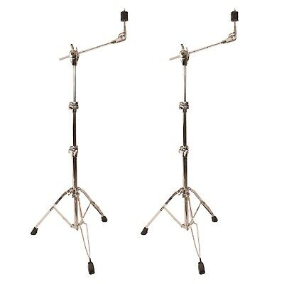 ChromaCast Pro Series Double Braced Cymbal Boom Stand 2 Pack