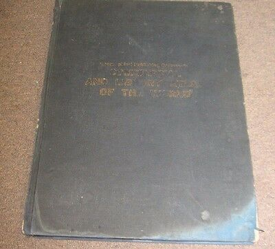 1940 Geographical  Publishing Co. Commercial Atlas Of The World Copyright 1944