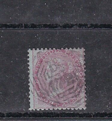 1855/64 8a Sc 10 blue paper,used in singapore B172      h1813