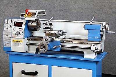 """WEISS WBL210V Bench Top 8"""" x 16"""" LATHE - Belt Drive ALL Leadscrews are Imperial"""