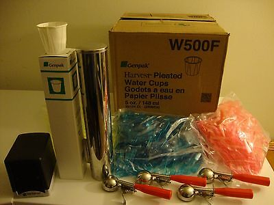 STARTER PACKAGE FOR ICE CREAM-ITALIAN ICE SET-UP 2000 5oz CUPS, 2250 TASTING