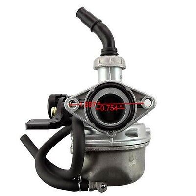 19mm Carburetor PZ19 Carb for 50cc 70cc 90cc 110cc 125cc ATV Quad Pit Dirt Bike