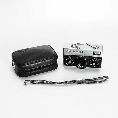 Rolei 35 Miniature Viewfinder Film Camera w/40mm Carl Zeiss Tessar Lens Germany