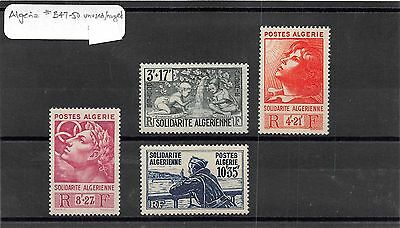 Lot of 7 Algeria MH Mint Hinged Semi-Postal Stamps #95753 X