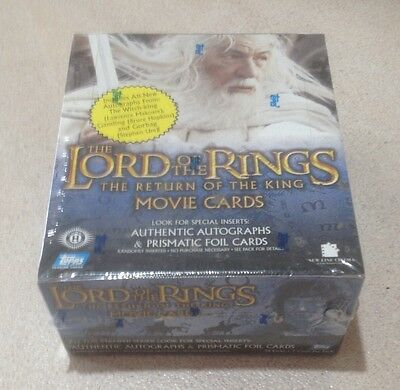 """2003 Topps """"Lord of the Rings - The Return of' the King"""" 2nd Wave Box - 36 Packs"""
