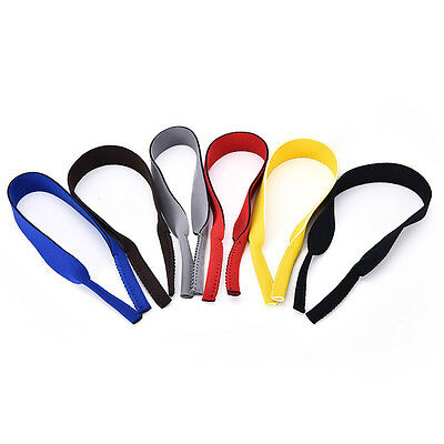 Spectacle Glasses Sunglasses Neoprene Stretchy Sports Band Strap Cord Holder W&