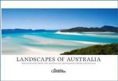 NEW Landscapes of Australia By  Australian Geographic Paperback Free Shipping