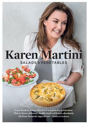 NEW Salads & Vegetables By Karen Martini Paperback Free Shipping
