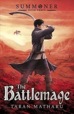 NEW The Battlemage By Taran Matharu Paperback Free Shipping
