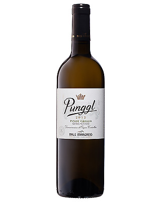 Nals Margreid Punggl Pinot Grigio 2013 case of 6 Dry White Wine 750mL