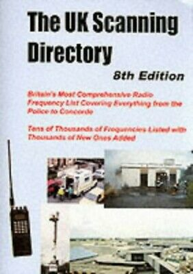 The UK Scanning Directory Paperback Book The Cheap Fast Free Post