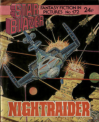 Nightraider,starblazer Fantasy Fiction In Pictures,no.172,1986