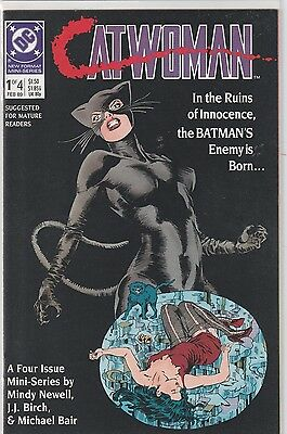 Catwoman First Series - Limited Series - Complete 1-4 -