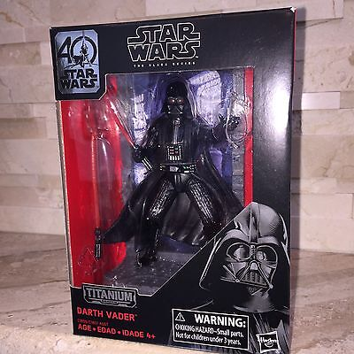 Star Wars 40Th Anniversary Darth Vader Titanium Figurine