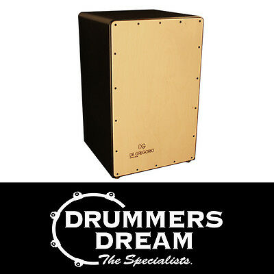 De Gregorio - DG Compass Cajon Drum RRP $339 Birch Front, Black Sides and Back