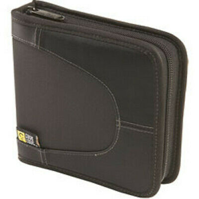 CDW-16 BLK Nylon CD Wallet-Holds 16 or 8 W/Notes