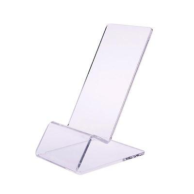 1X Universal Clear Acrylic Mount Hold Display Stand For CellPhone iPhoneSamsung