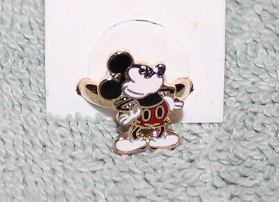 Nice Vintage Disney Mickey Mouse Hands On Hips Ring Nos Adjustable