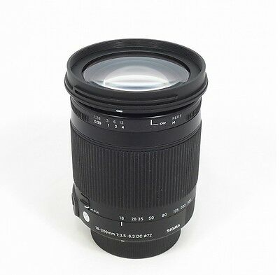 Sigma Zoom Lens Contemporary 18-300mm F3.5-6.3 DC MACRO OS HSM APS-C for Canon