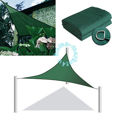 3M Triangle Water Resistant Sun Shade Sail Awning Canopy Sunscreen Blind Anti-UV