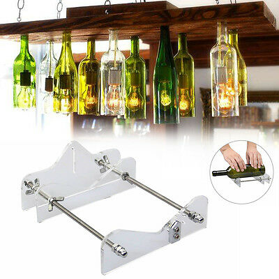 Glass Wine Beer Bottle Cutter Machine Craft Cutting Tool DIY Recycle Kit