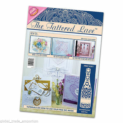 Tattered Lace Die cuttig Magazines - ALL ISSUES 1-34 With FREE DIES & FREE P&P!