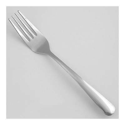 "Walco 7"" Stainless Steel Dinner Fork with Windsor Pattern; PK24 7205"