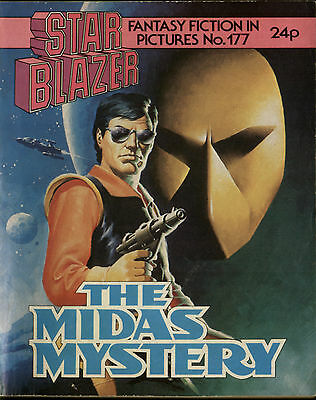 The Midas Mystery,starblazer Fantasy Fiction In Pictures,no.177,comic,1986