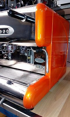 La San Marco 2 group espresso coffee machine