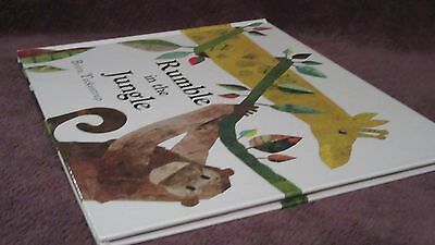 Rumble in the Jungle ~ Britta TECKENTRUP.  NEW  HARDcover.  RARE   HERE  in MELB