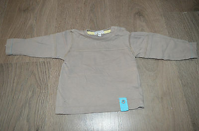 IN EXTENSO => T-shirt manches longues marron 12 mois MaM