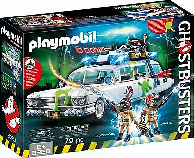 Playmobil - Ghostbusters - 9220 - Ghostbusters Ecto-1 - NEU OVP