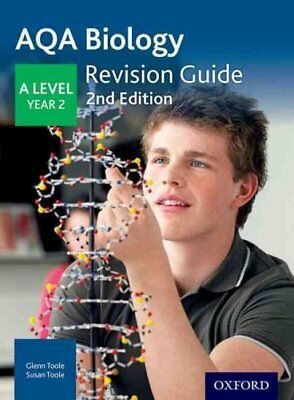 AQA A Level Biology Year 2 Revision Guide: Year 2 by David Applin (Paperback,...