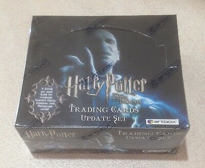 """2007 Artbox """"Harry Potter & the Order of the Phoenix (Update Set)"""" - Sealed Box"""