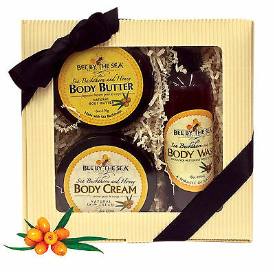 Bee By The Sea Nourishing Collection - Body Cream, Body Butter, Body Wash