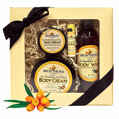 Bee By The Sea Radiance Collection - Body Cream, Face Cream, Body Wash, Lip Balm