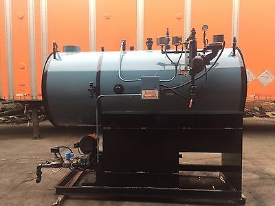 30 HP Gas Fired Steam Boiler 150 PSI  Lattner Boiler