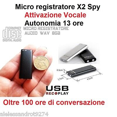 Micro Recorder Audio Activation Vowel 8Gb Spy Voice Recorder Usb 8 Gb