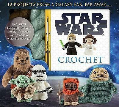 Star Wars Crochet Pack, Collin, Lucy, New condition, Book