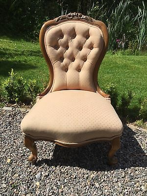 Antique Victorian Spoon Back Style Chair