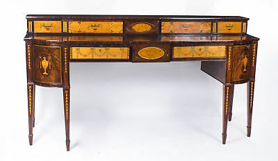 Antique Regency Flame Mahogany Inlaid Sideboard C1820