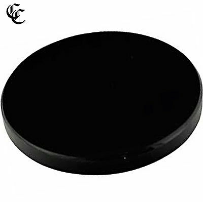 """5"""" Black Obsidian Stone Scrying Mirror Wiccan Pagan Witchcraft Divination"""