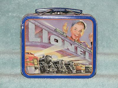 Lionel Small Lunch / Tool Box or Collectible Tin, VG Condition & Ready-To-Use.