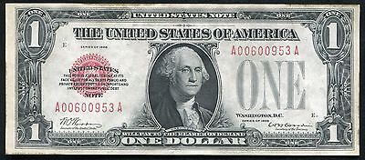 Fr. 1500 1928 $1 One Dollar Red Seal Legal Tender United States Note Gem Unc