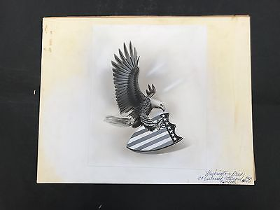 Production Artwork - American Eagle and Shield