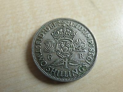 George VI Florin/ Two Shillings Silver Coins Choose your date 1937-1951